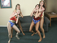 Wonder Rookies 1 Featuring Christina Carter and Amber Bach
